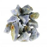 Blauwe Chalcedoon ruw, 0,5 kg.