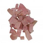 Roze kwarts ruw klein, 1 kg.