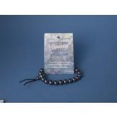 Powerbead armband Hematiet