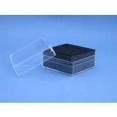 Plasticdoos 59 x 59 x 29 mm. zwart