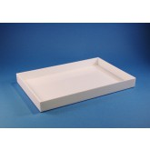 System-Box 120 x 180 x 18 mm, wit