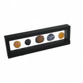 3D Zwevend display-raam 295 x 95 mm zwart