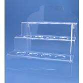 Acrylglas trap voor ronde objecten