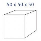 Acrylglaskubus 50 x 50 x 50 mm.
