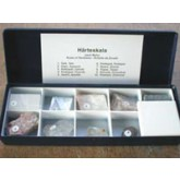 Kleine hardheidschaal in cassette, 1 - 9