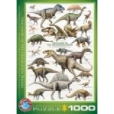Dinosaurs of the Cretaceous (1000 stukjes)