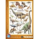 Dinosaurs of the Jurassic (1000 stukjes)