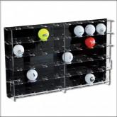 Vitrine voor Ballen & Eieren 450 x 290 x 55 mm.