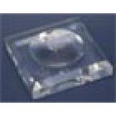 Acrylglas Sokkel 90 x 90 x 12 mm. met uitholling